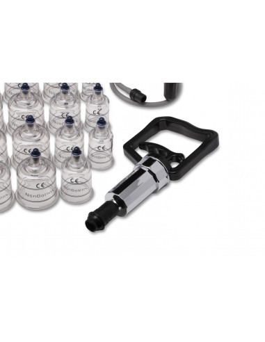 Cupping set: 19 Cupping Jars with Pump